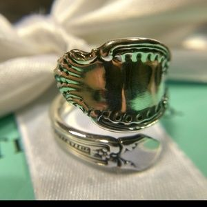 Antique1892 Tiffany & Company Richeliue Spoon-Ring